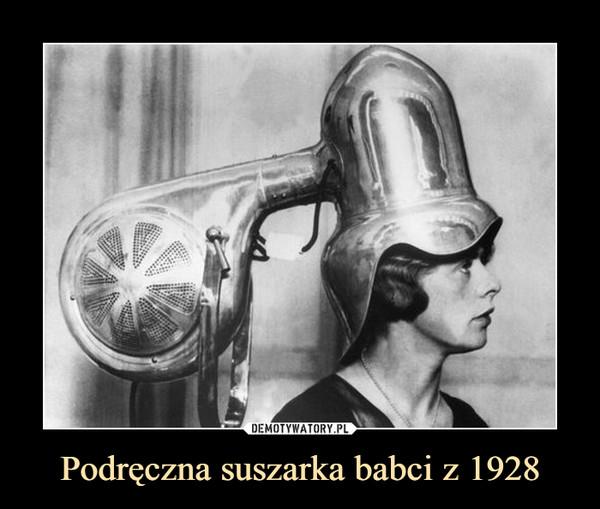 Podręczna suszarka babci z 1928 –