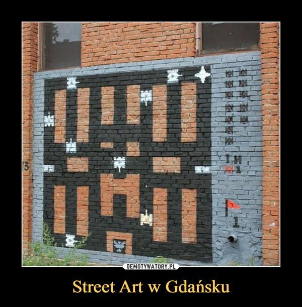 Street Art w Gdańsku –