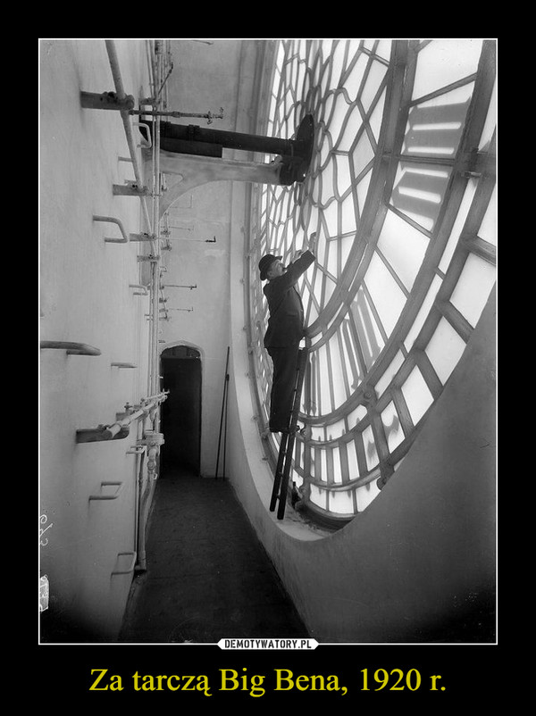 Za tarczą Big Bena, 1920 r. –