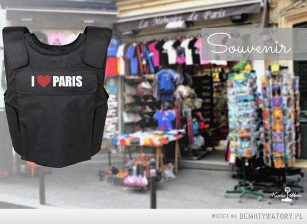 Pamiątki....na czasie XXI wieku –  I <3 Paris Souvenir