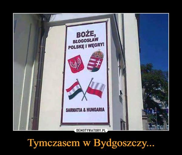 Tymczasem w Bydgoszczy... –  Boże, pobłogosław Polskę i WęgrySarmatia & husaria