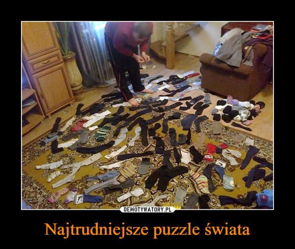 Najtrudniejsze puzzle świata –