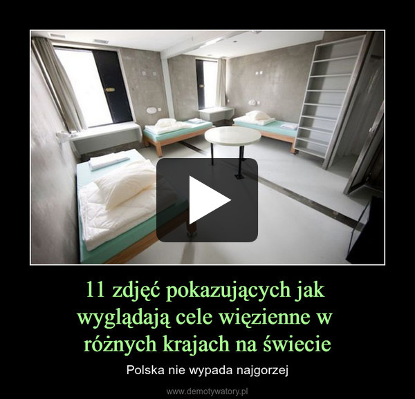 11 zdjęć pokazujących jak wyglądają cele więzienne w różnych krajach na świecie – Polska nie wypada najgorzej