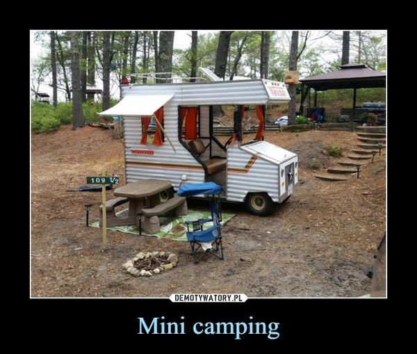 Mini camping –