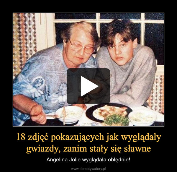 18 zdjęć pokazujących jak wyglądały gwiazdy, zanim stały się sławne – Angelina Jolie wyglądała obłędnie!