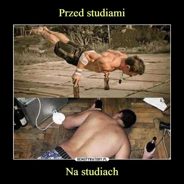 Na studiach –