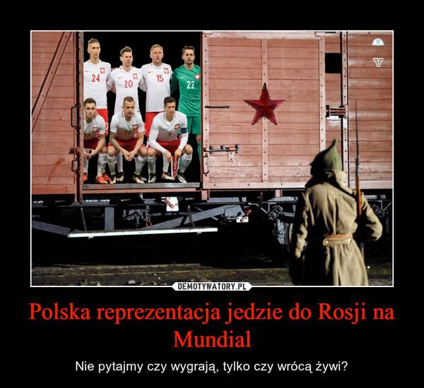 Polska reprezentacja jedzie do Rosji na Mundial