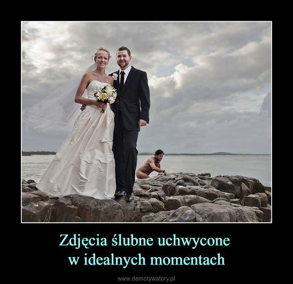 Zdjęcia ślubne uchwycone w idealnych momentach –