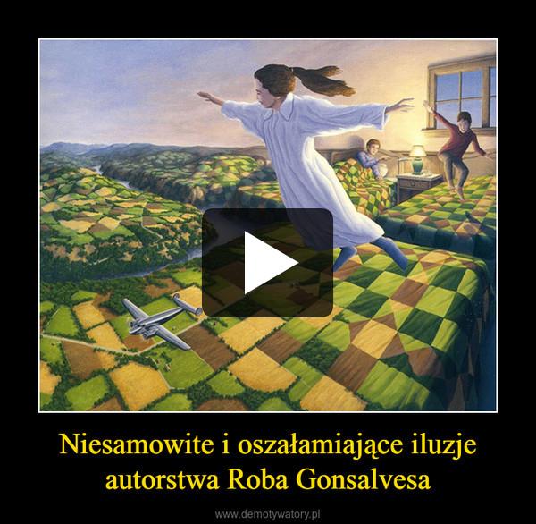 Niesamowite i oszałamiające iluzjeautorstwa Roba Gonsalvesa –