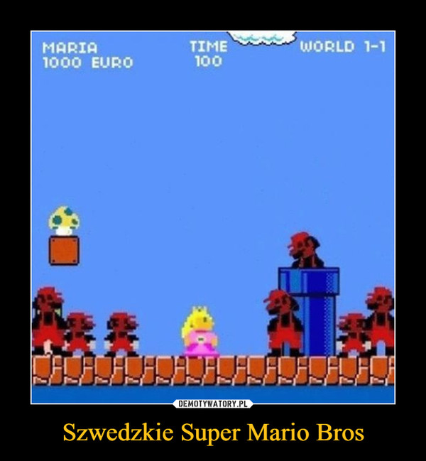 Szwedzkie Super Mario Bros –