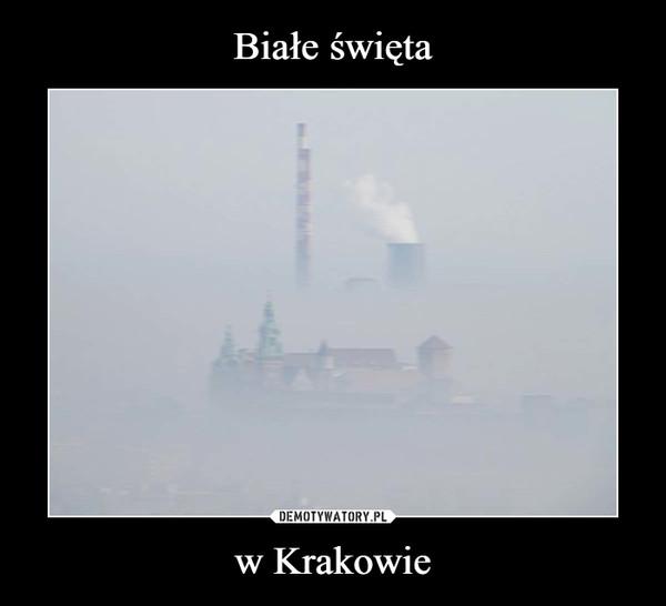 w Krakowie –