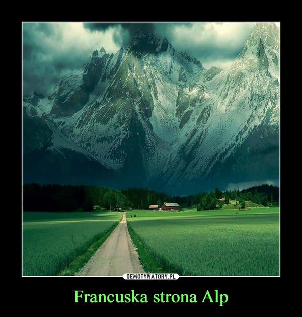 Francuska strona Alp –