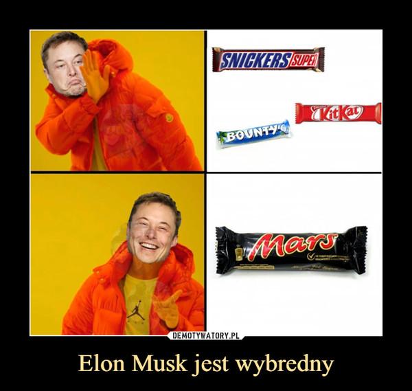 Elon Musk jest wybredny –