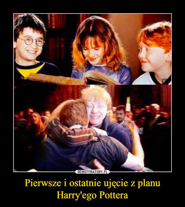 Pierwsze i ostatnie ujęcie z planu Harry'ego Pottera –