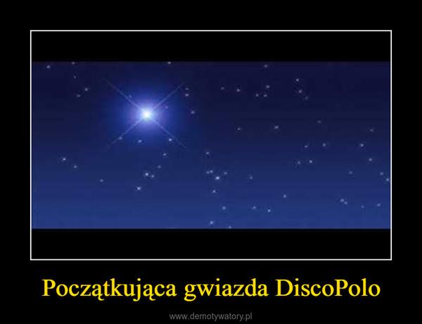 Początkująca gwiazda DiscoPolo –