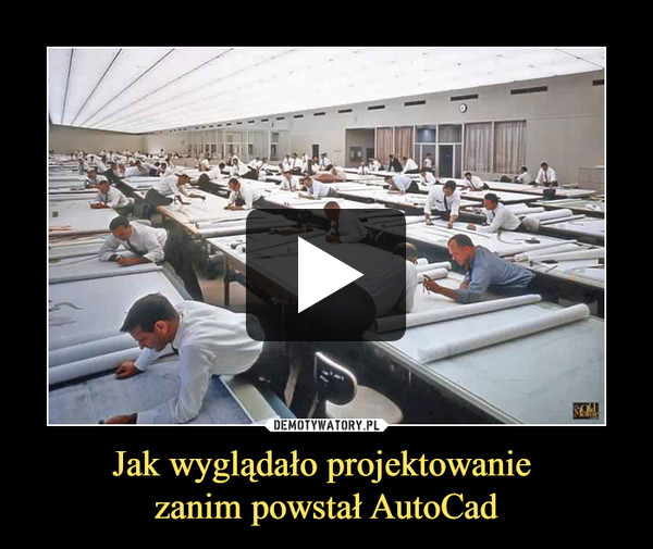 Jak wyglądało projektowanie zanim powstał AutoCad –