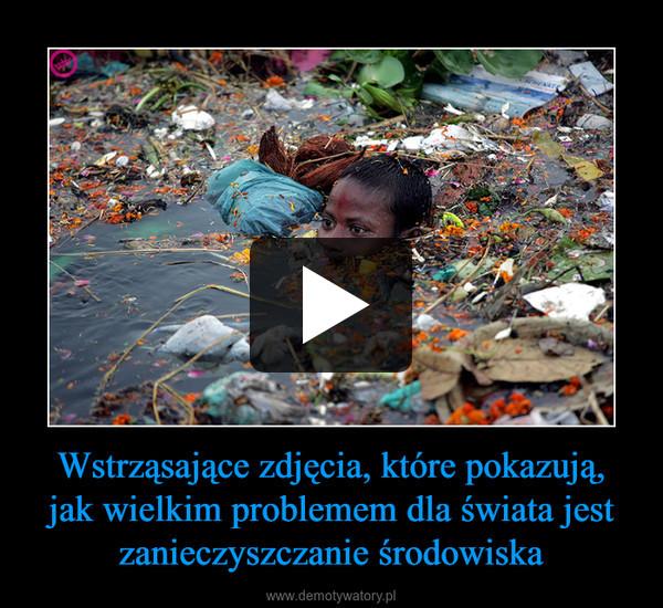 Wstrząsające zdjęcia, które pokazują, jak wielkim problemem dla świata jest zanieczyszczanie środowiska –