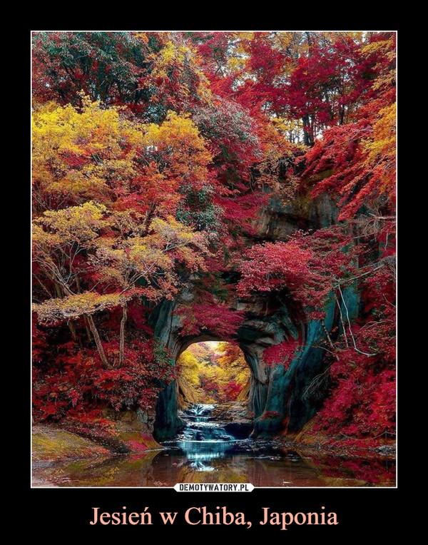 Jesień w Chiba, Japonia –