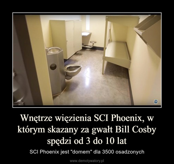 """Wnętrze więzienia SCI Phoenix, w którym skazany za gwałt Bill Cosby spędzi od 3 do 10 lat – SCI Phoenix jest """"domem"""" dla 3500 osadzonych"""