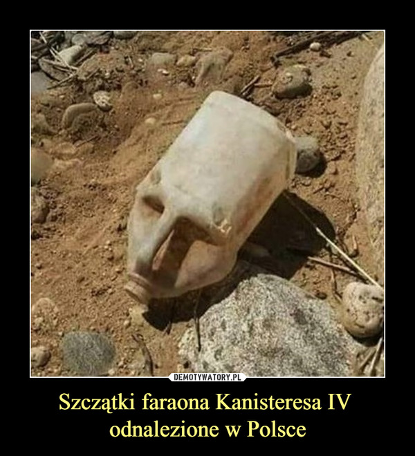 Szczątki faraona Kanisteresa IV odnalezione w Polsce –