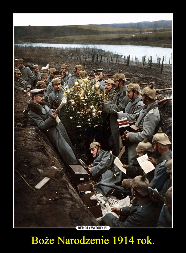 Boże Narodzenie 1914 rok. –