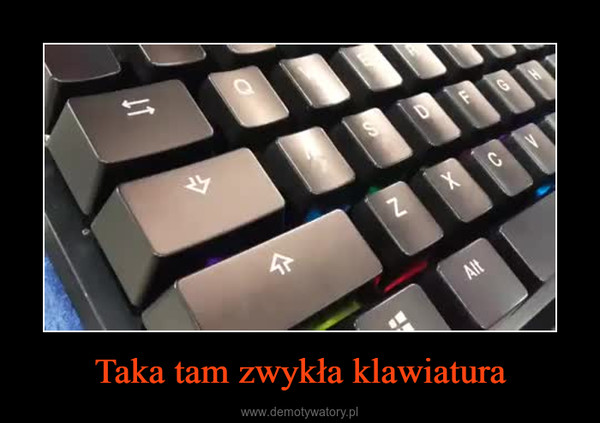 Taka tam zwykła klawiatura –