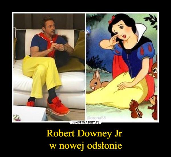 Robert Downey Jr w nowej odsłonie –