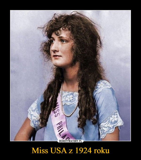 Miss USA z 1924 roku –