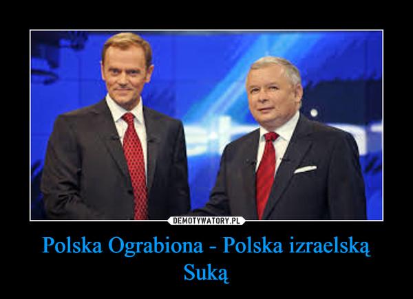 Polska Ograbiona - Polska izraelską Suką –