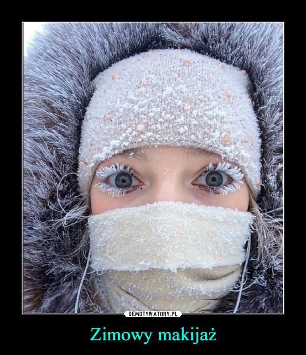 Zimowy makijaż –