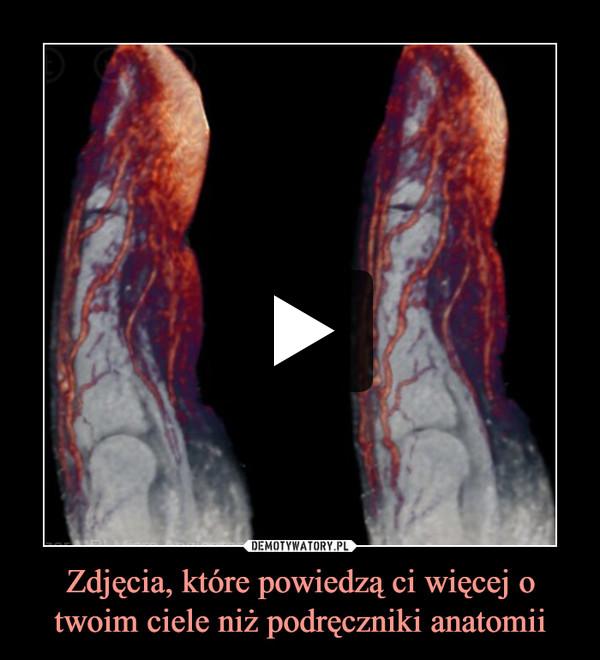 Zdjęcia, które powiedzą ci więcej o twoim ciele niż podręczniki anatomii –