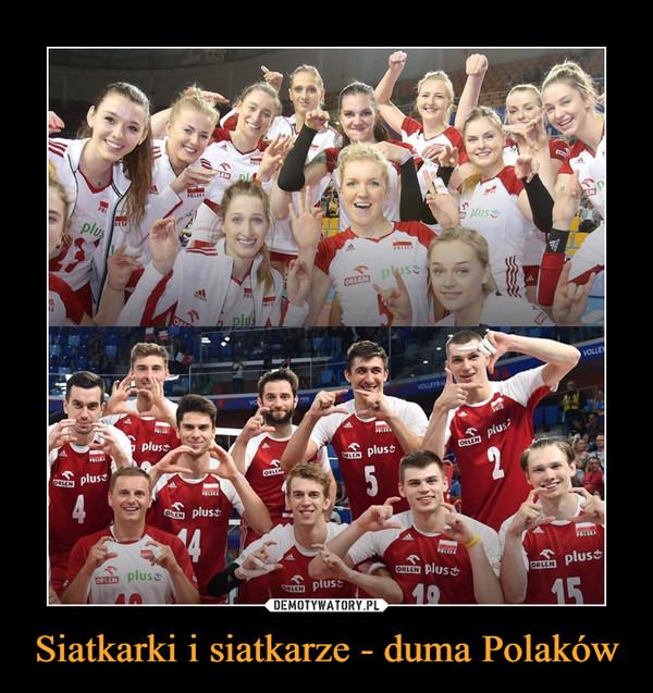 Siatkarki i siatkarze - duma Polaków –