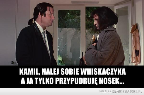 Tarantino lubi wino... –