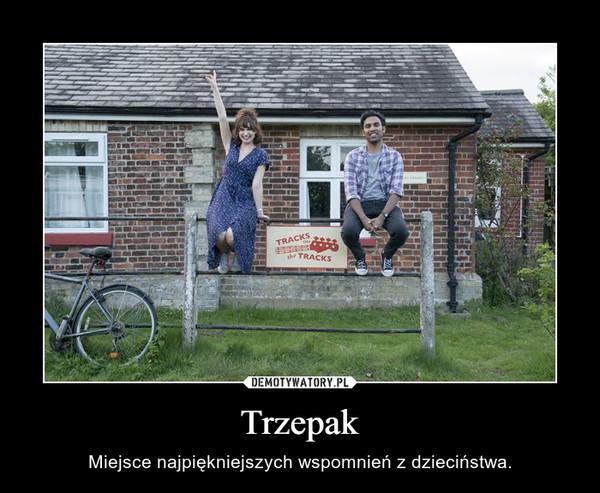 Trzepak – Miejsce najpiękniejszych wspomnień z dzieciństwa.