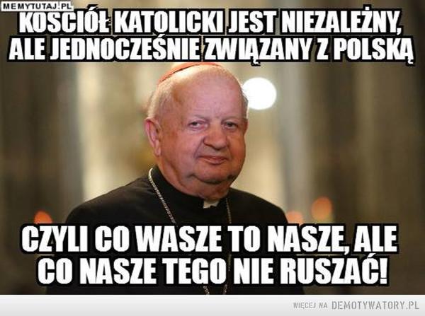 Kościół jest związany z Polską –