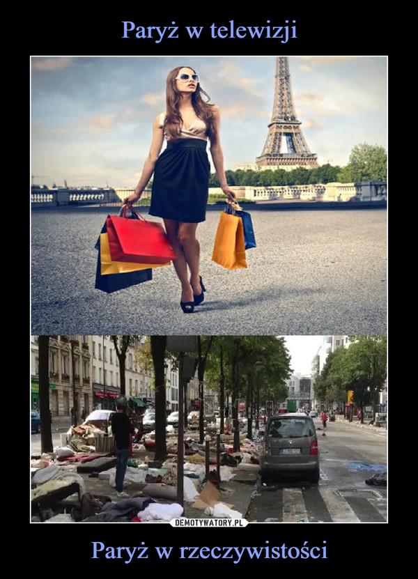Paryż w rzeczywistości –
