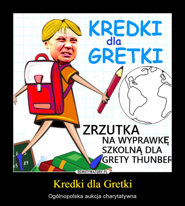 Kredki dla Gretki – Ogólnopolska aukcja charytatywna