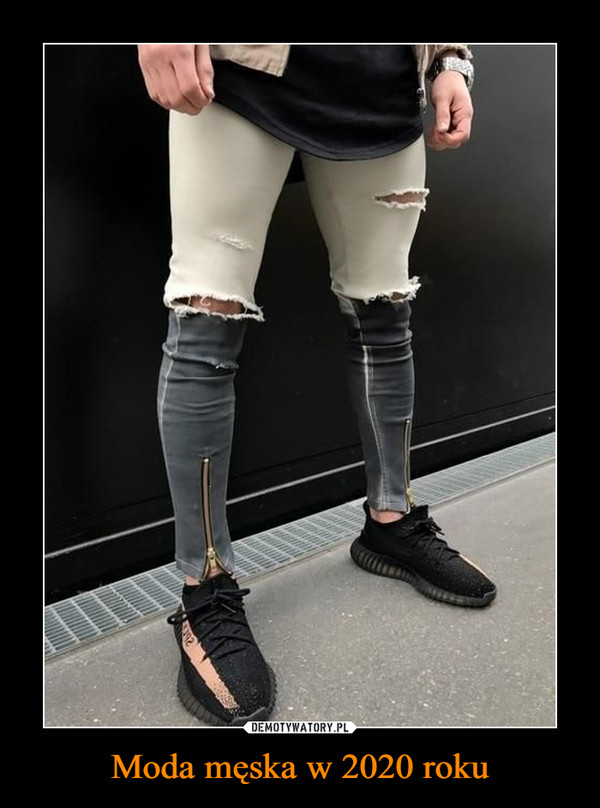 Moda męska w 2020 roku –