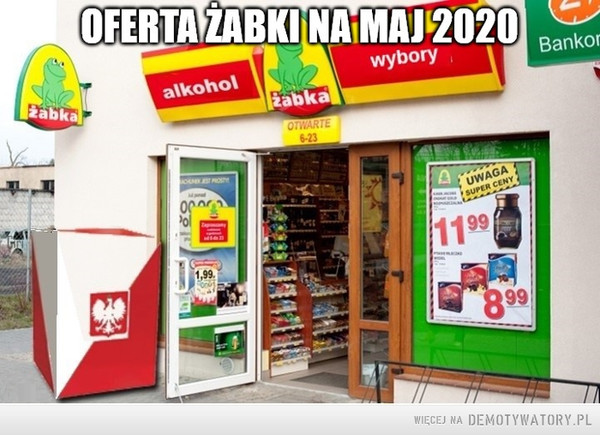 Oferta żabki na maj 2020. –