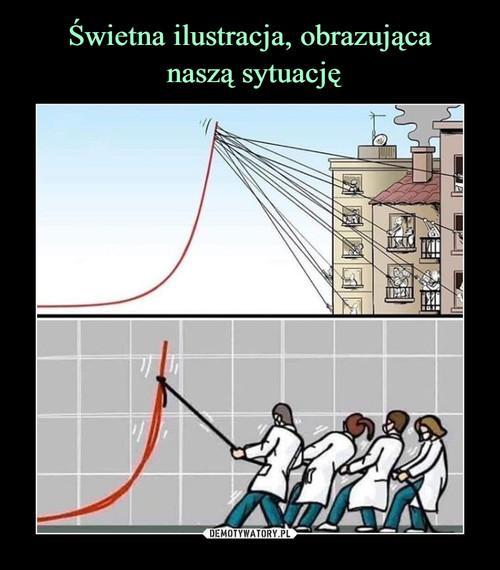 Świetna ilustracja, obrazująca  naszą sytuację