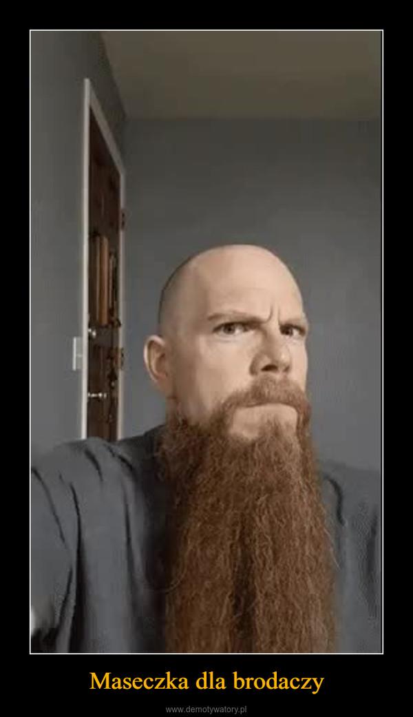 Maseczka dla brodaczy –
