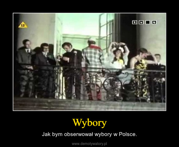 Wybory – Jak bym obserwował wybory w Polsce.