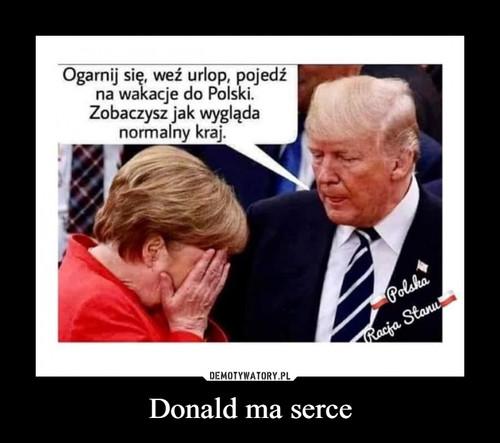 Donald ma serce