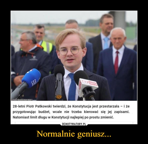Normalnie geniusz...