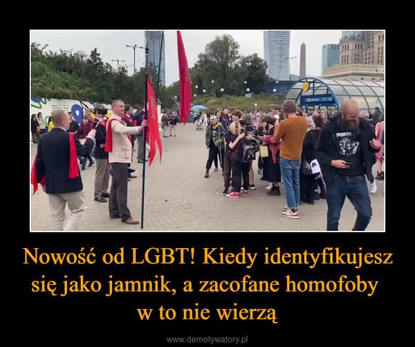 Nowość od LGBT! Kiedy identyfikujesz się jako jamnik, a zacofane homofoby w to nie wierzą –