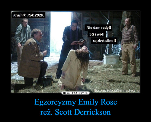 Egzorcyzmy Emily Rose reż. Scott Derrickson