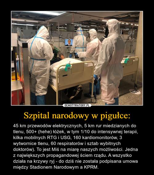 Szpital narodowy w pigułce: