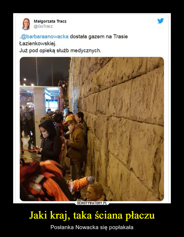 Jaki kraj, taka ściana płaczu – Posłanka Nowacka się popłakała