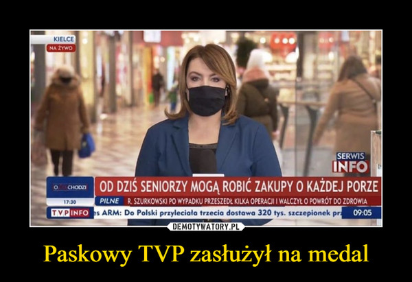 Paskowy TVP zasłużył na medal –