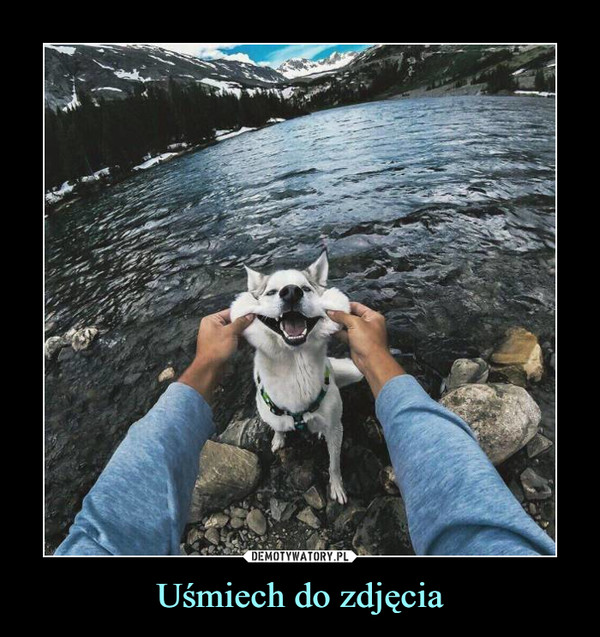 Uśmiech do zdjęcia –